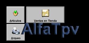 Soluciones de Gestión Empresarial, AlfaTpv - Terminal Punto de Venta