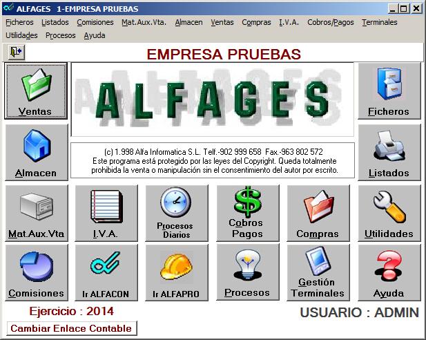 AlfaGes Gestión Comercial