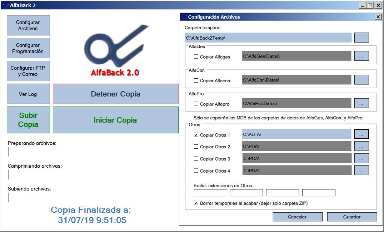 AlfaBack2 Backup Remoto